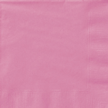 Hot Pink Napkins (20pcs) 2-Ply Paper Napkins